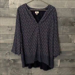 Old Navy 3/4 Sleeve Tunic